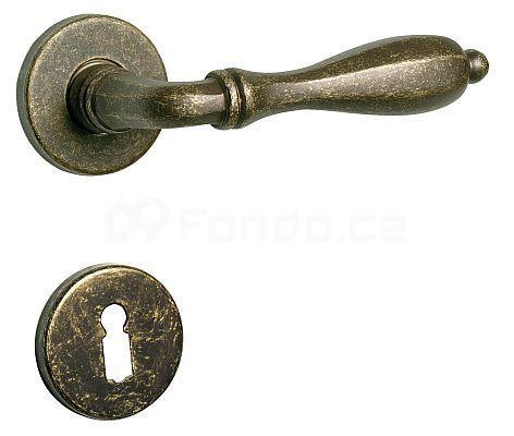 Dveřní kování rozetové SVEZIA PZ 8 mm