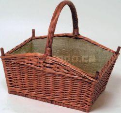 Proutěný koš na dřevo mod.608