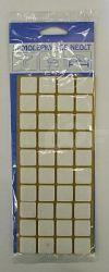 Filcové podložky samolepící 20x20 mm - 40 ks