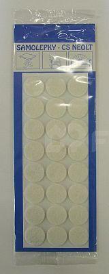 Filcové podložky samolepící Ø 25 mm