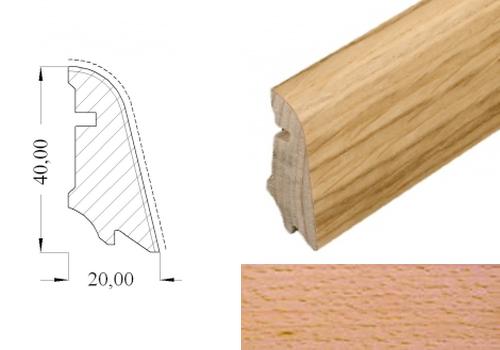 HOCO 554 UM buk pařený dýha lak soklová lišta