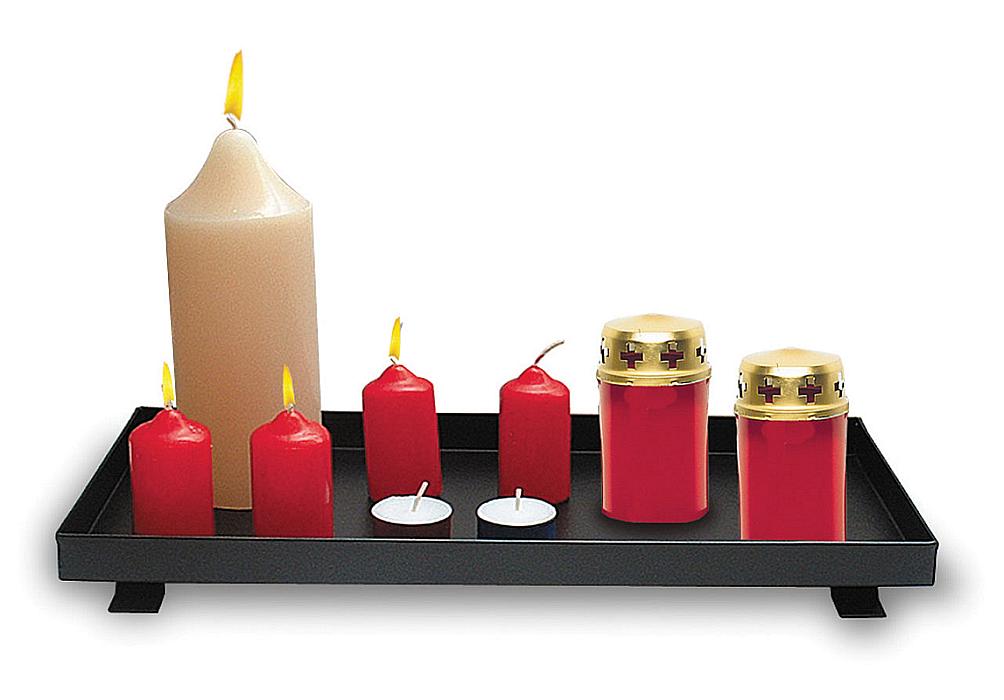 Podstavec pro svíčky kovový 25/15 mod.010