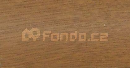 Schodový profil dub dýha 9 mm/270 cm