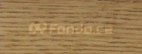 Schodový profil dub světlý 9 mm/270 cm