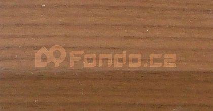 Schodový profil ořech dýha 20 mm/270 cm