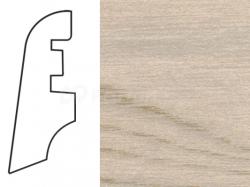 Soklová lišta MDF - dekor Jasan B 181