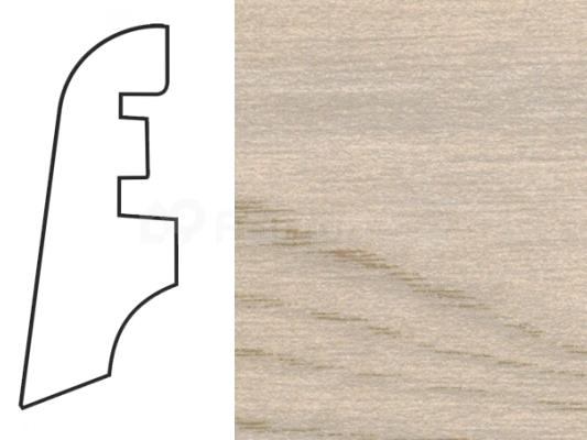 Soklová lišta MDF - dekor Jasan 181