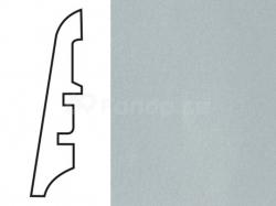 KP60 Stříbro 111 soklová lišta (10 ks / bal.)