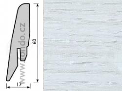 Soklová lišta Tarkett 8025299 Painted white (5 ks / bal.)