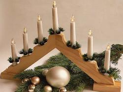 Star-Max Vánoční svícen LED 09175