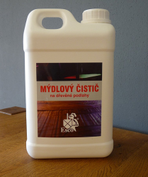 ESCO Mýdlový čistič na dřevěné podlahy