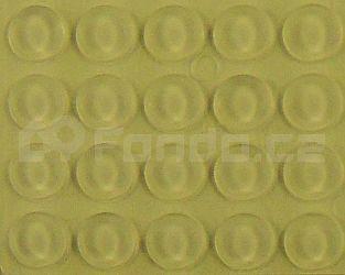 Gumové podložky transparentní 20 ks