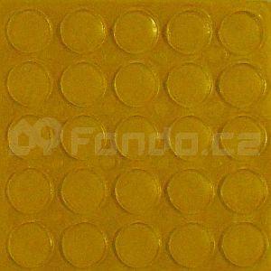 Gumové podložky transparentní 25 ks