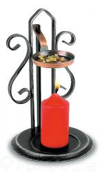 Kovaný svícen - vykuřovadlo