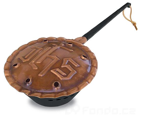 Kovová vykuřovací miska mod.021