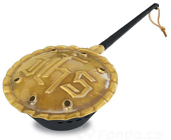 Kovová vykuřovací miska mod.022