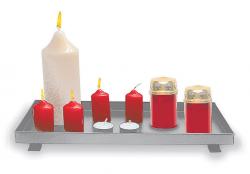 Podstavec pro svíčky kovový 40/20 mod.051