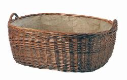 Proutěný koš na dřevo mod.604
