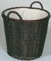 Proutěný koš na dřevo mod.609-DK