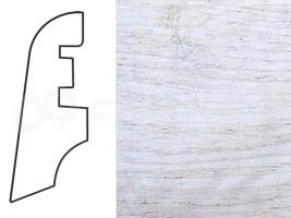 Soklová lišta MDF - dekor Dub 13118