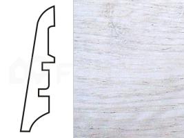 Soklová lišta MDF - dekor Dub 13118 60