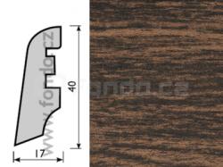 KP40 Dub dark 13517 soklová lišta (10 ks / bal.)
