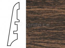 KP60 Dub dark 13517 soklová lišta
