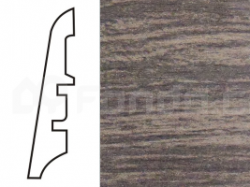 KP60 Dub hnědý 13523 soklová lišta