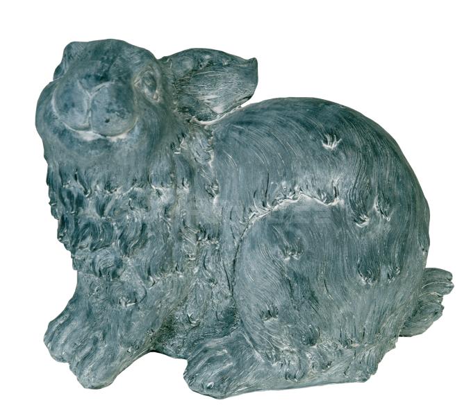 Zahradní dekorace - sedící zajíc