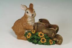 Zahradní dekorace - zajíc