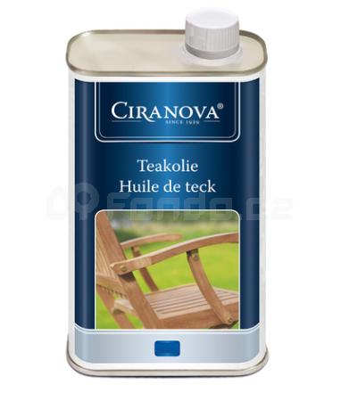 Ošetřovací teakový olej CIRANOVA 1l