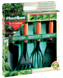 PLASTIKEN zahradní nářadí - set