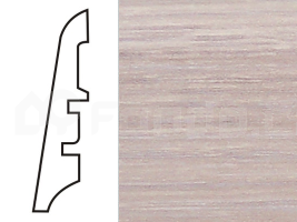 Soklová lišta MDF - dekor Dub 13209 60