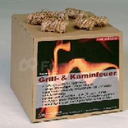Podpalovací smotky pro krby, kamna, grily mod.045