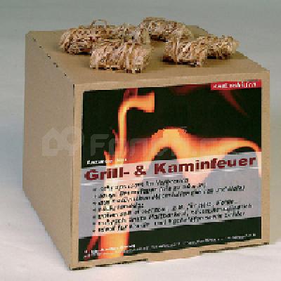 Podpalovací smotky pro krby, kamna, grily