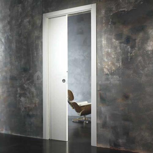 Stavební pouzdro Ermetika do SDK pro posuvné dveře jednokřídlé