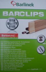 Klipy pro soklové lišty Barlinek (50 ks/bal.)