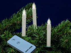 LED svíčky na stromeček SLIM LINE - bezdrátové