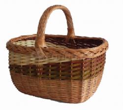 """Nákupní proutěný košík """"Vera"""" mod.112"""