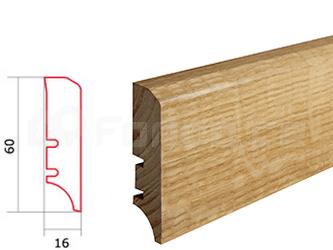 Soklová lišta Dub P50 Barlinek P5001011A (10 ks / bal.)