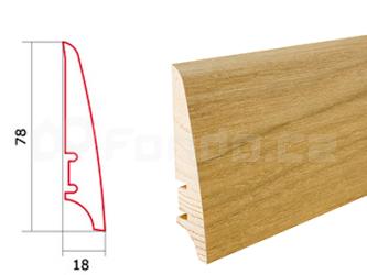 Soklová lišta Dub Excite P30 Barlinek P3001302A (10 ks / bal.)