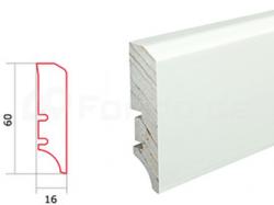 Barlinek P50 P5018101A folie bílá soklová lišta (10 ks / bal.)