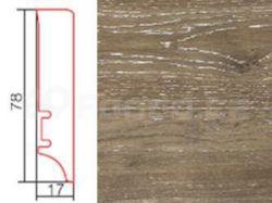Barlinek P78 P7801262A Dub Brownie lak soklová lišta (10 ks / bal.)