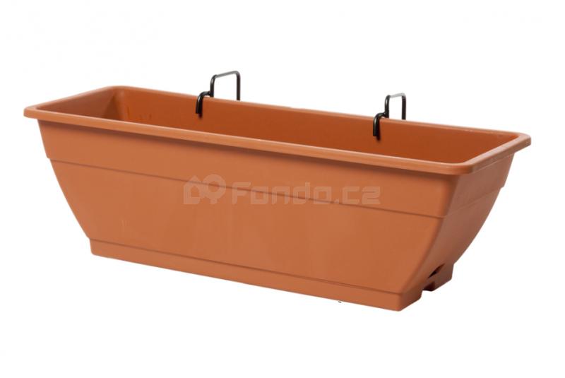 Balkónový truhlík Unica 50 Plastecnic