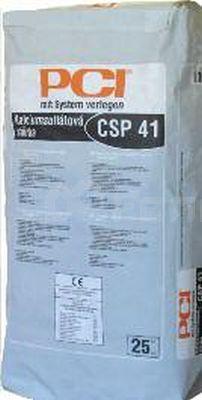 Kalciumsulfátová samonivelační stěrka CSP 41 BASF PCI