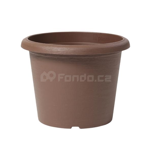Plastový květináč e-Terrae Cylinder Plastecnic