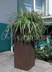 Plastový květináč KUBUS ROST 80