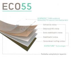 ECO55 luxusní vinylové podlahy