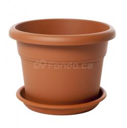 Plastový květináč Unica Plastecnic (2 ks / bal.)