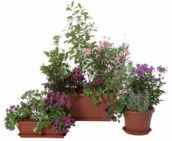 Plastové květináče a truhlíky Unica Plastecnic